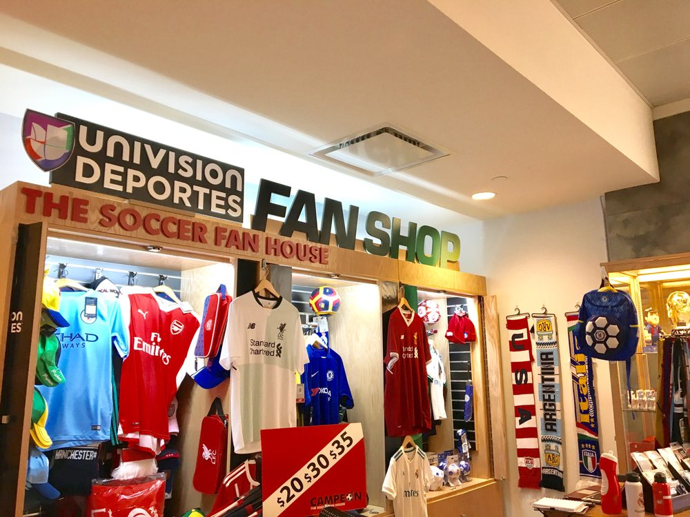 33c47f55 Photos for Univision Deportes Fan Shop - Yelp