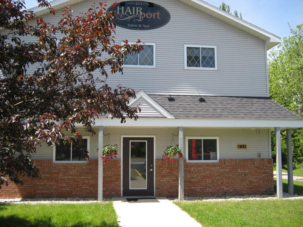 Hairport Salon & Spa: 404 Bridge St, Elk Rapids, MI