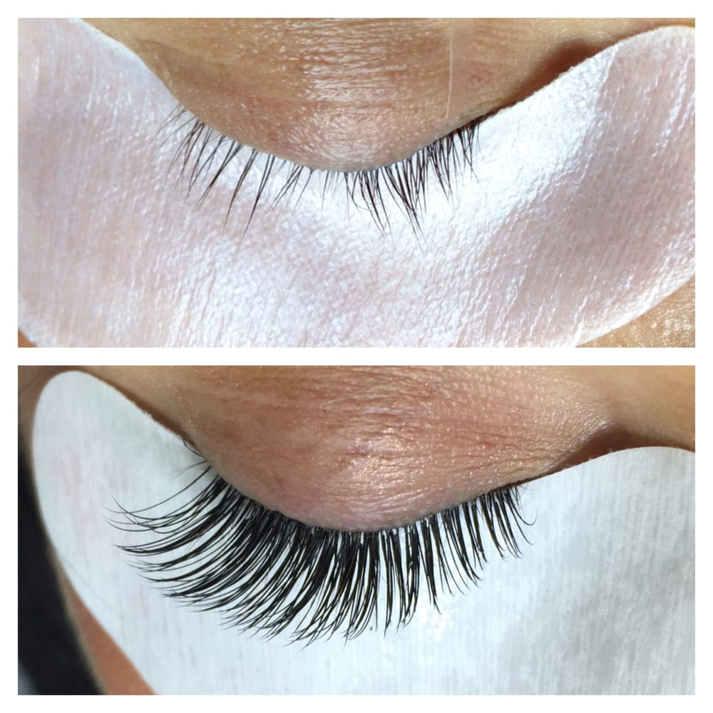 Above Pic Lashes Heavily Damaged From Incorrect Lash