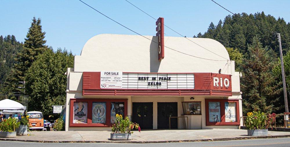 Monte Rio Theater: 20396 Bohemian Hwy, Monte Rio, CA