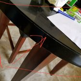 Photo Of Bobu0027s Discount Furniture   Waldorf, MD, United States. Poorly  Constructed Table