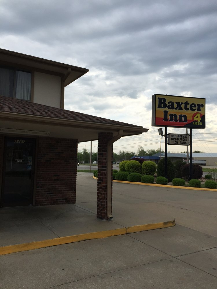 Baxter Inn 4 Less: 2451 Military Ave, Baxter Springs, KS