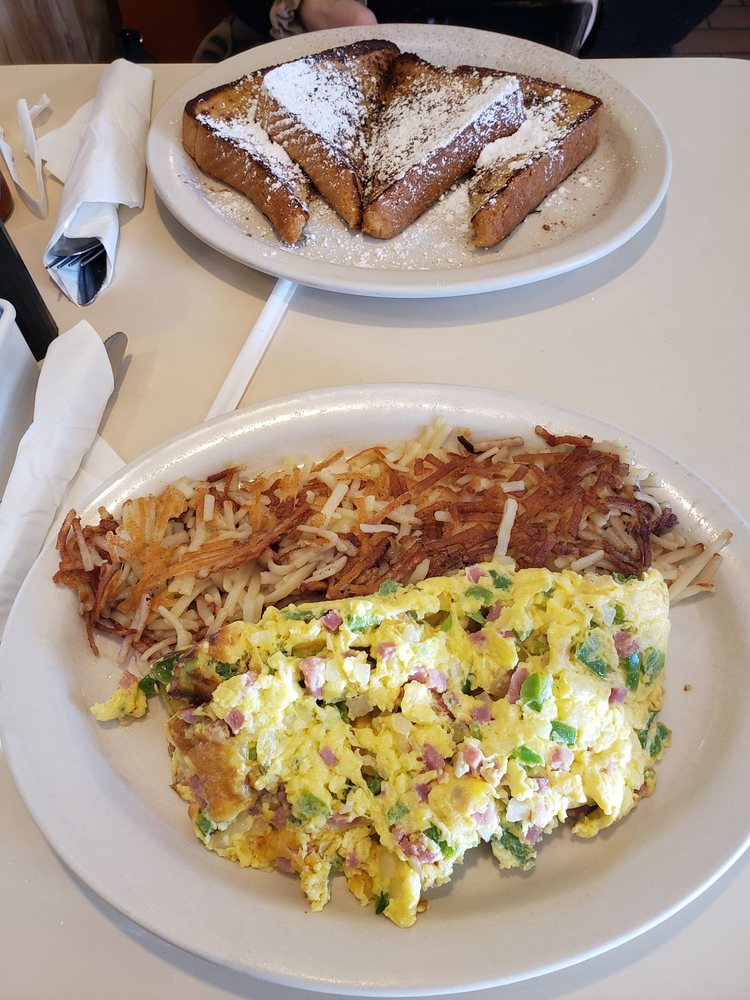 Food from College Park Diner