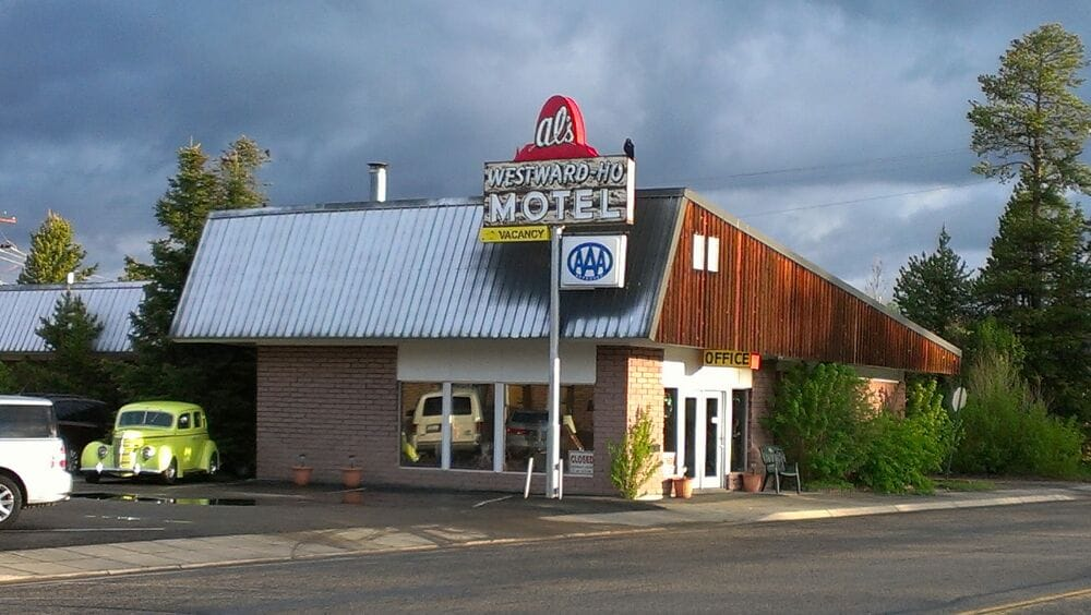 Als Westward Ho Motel West Yellowstone Mt