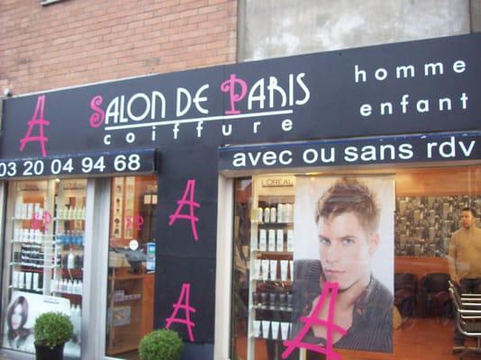 Salon de paris coiffeurs salons de coiffure 280 rue - Nombre de salons de coiffure en france ...
