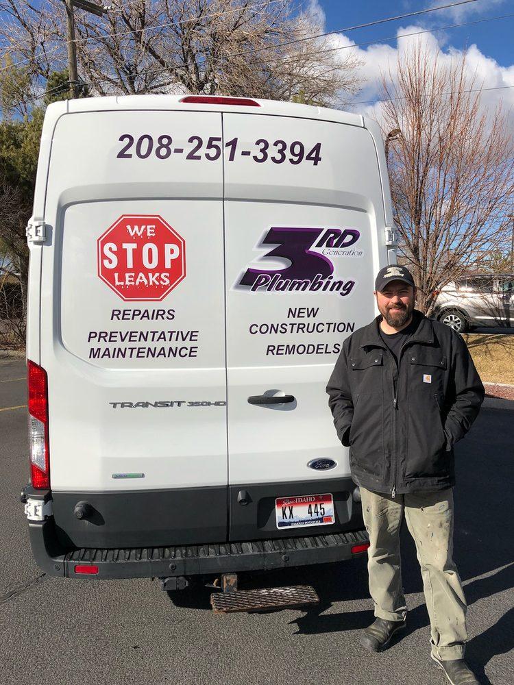 3RD Generation Plumbing: 624 E Center St, Pocatello, ID