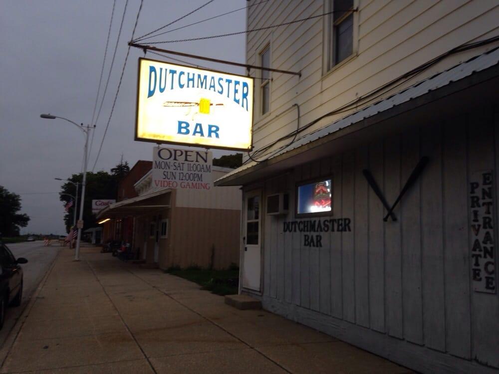 Dutchmaster Bar: 114 S Railroad Ave, Paxton, IL