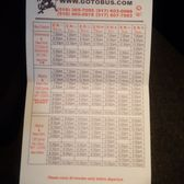 P O Of Fox Bus Albany Ny United States Bus Schedule As Of