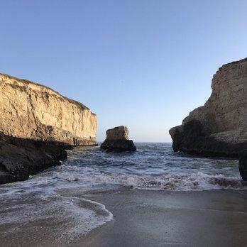 Bonny Doon Beach, Santa Cruz, California [890x1334] (OC