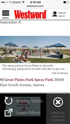 Great Plains Park 20100 E Jewell Ave Aurora, CO Parks - MapQuest