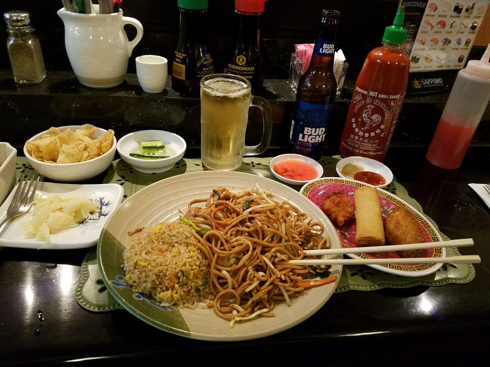 Lucky Sushi & Chinese Restaurant: 1350 E Florence Blvd, Casa Grande, AZ