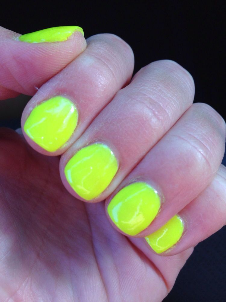 Popping that SNS summer neon! Thank you Jennifer PERFECTION and ...