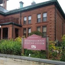 Des Moines County Historical Society: 501 North 4th St, Burlington, IA