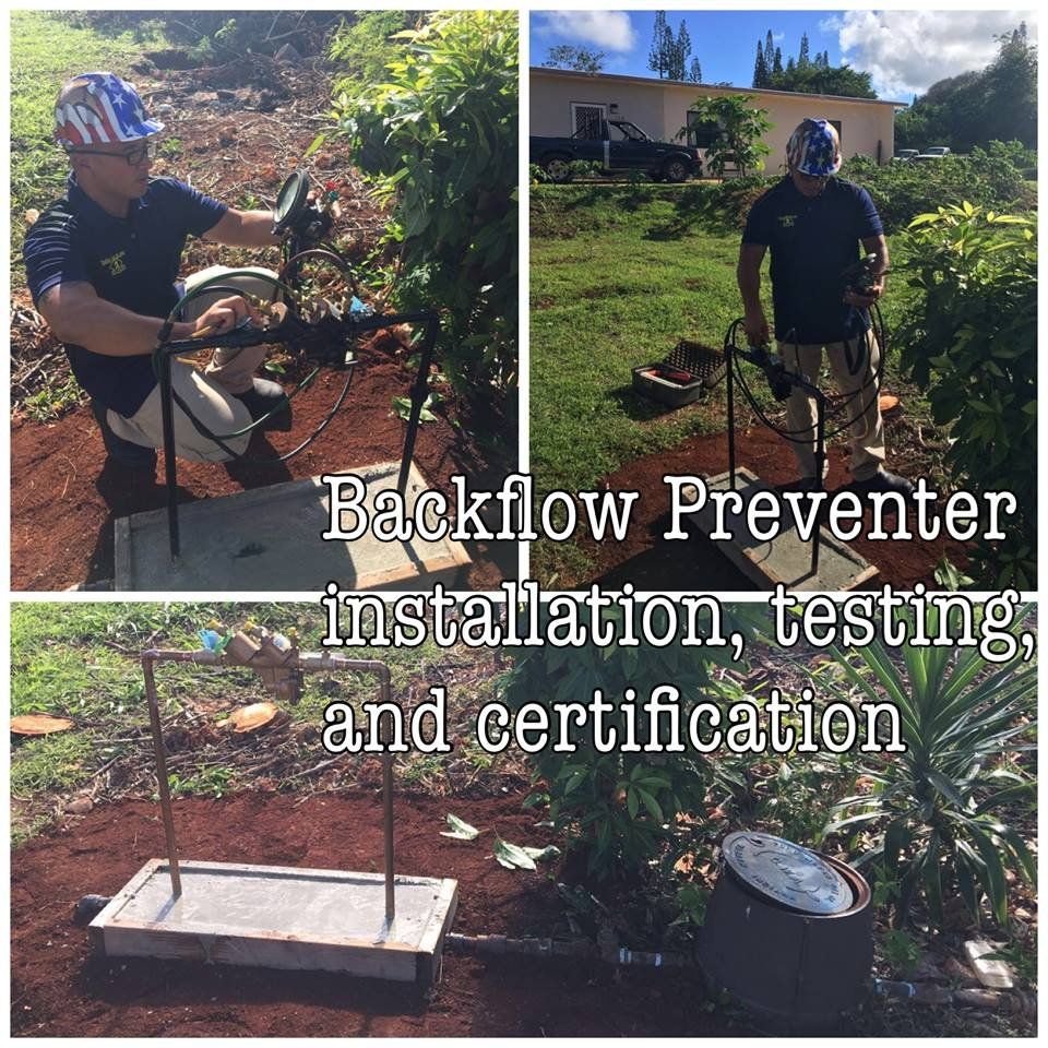 Backflow Preventer Installation Testing And Certification Yelp
