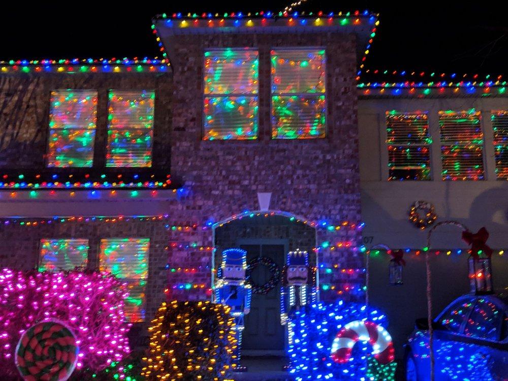 Christmas Lights at Chinati Court
