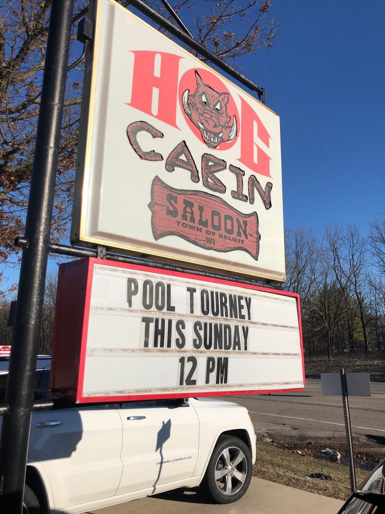 Hog Cabin Saloon: 631 W Newark Rd, Beloit, WI