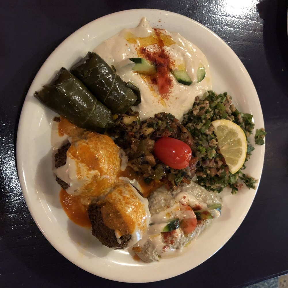 Food from Tangier Cafe