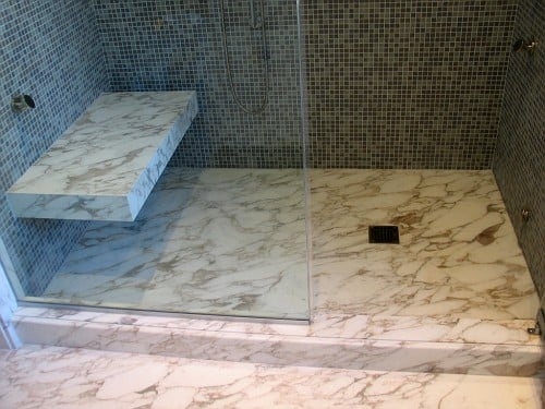 Photo Of Expert Tile   New York, NY, United States. Custom Calacatta Slab