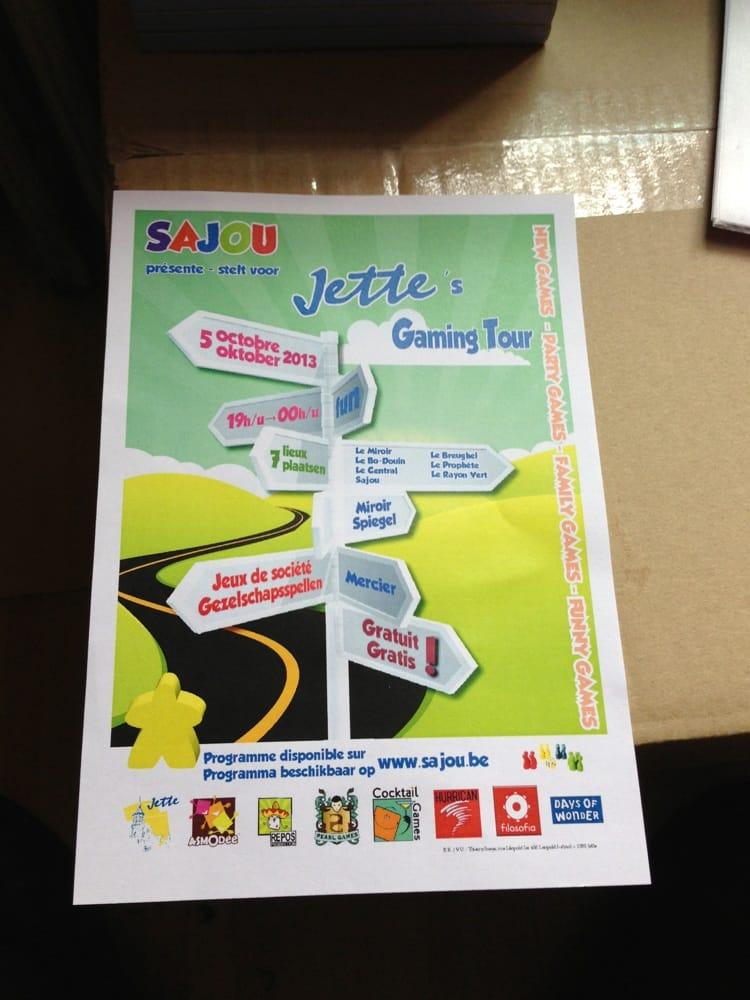 Sajou speelgoedwinkels rue l opold 466 miroir jette for Miroir jette