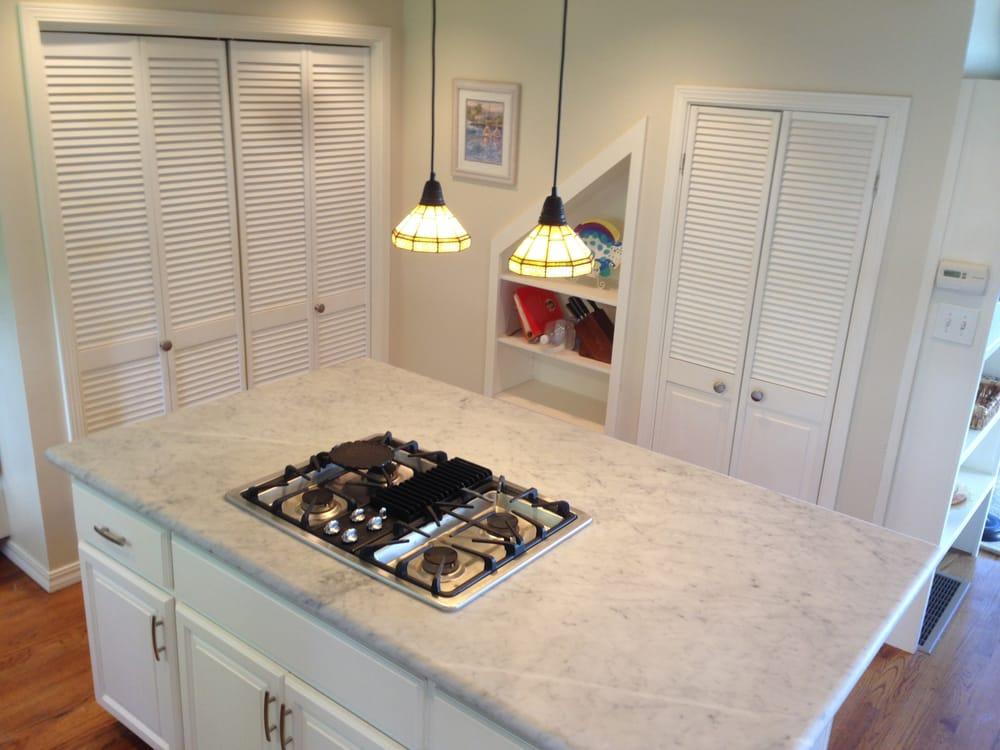 Honed carrera marble sausalito yelp for Sausalito tile