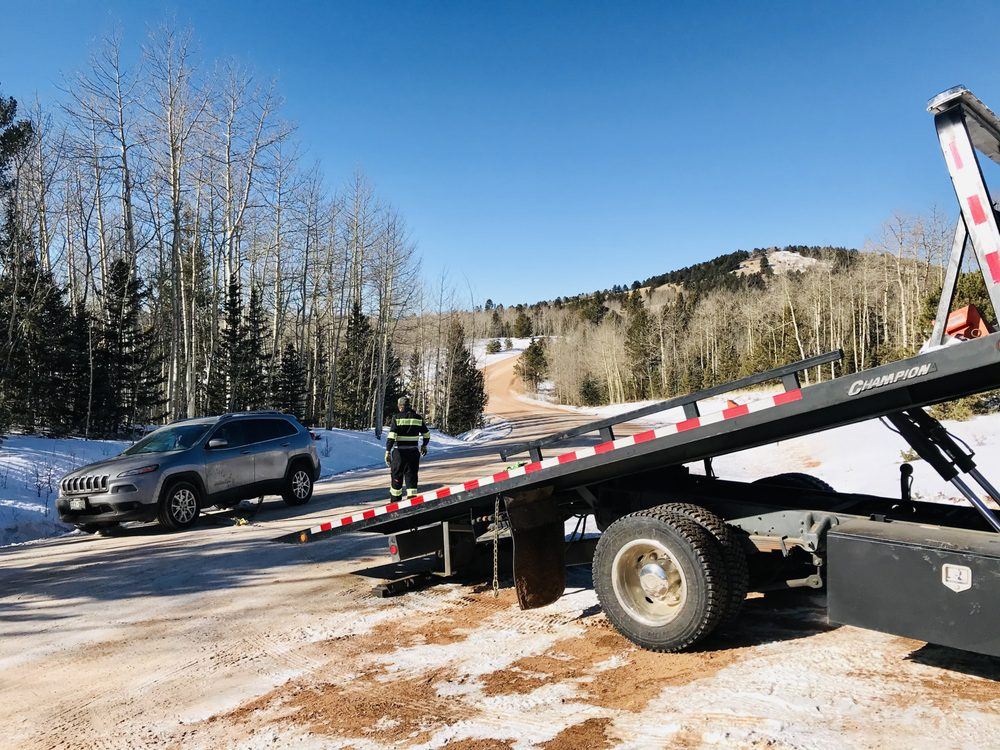 Seven1Nine Towing and Recovery: Divide, CO