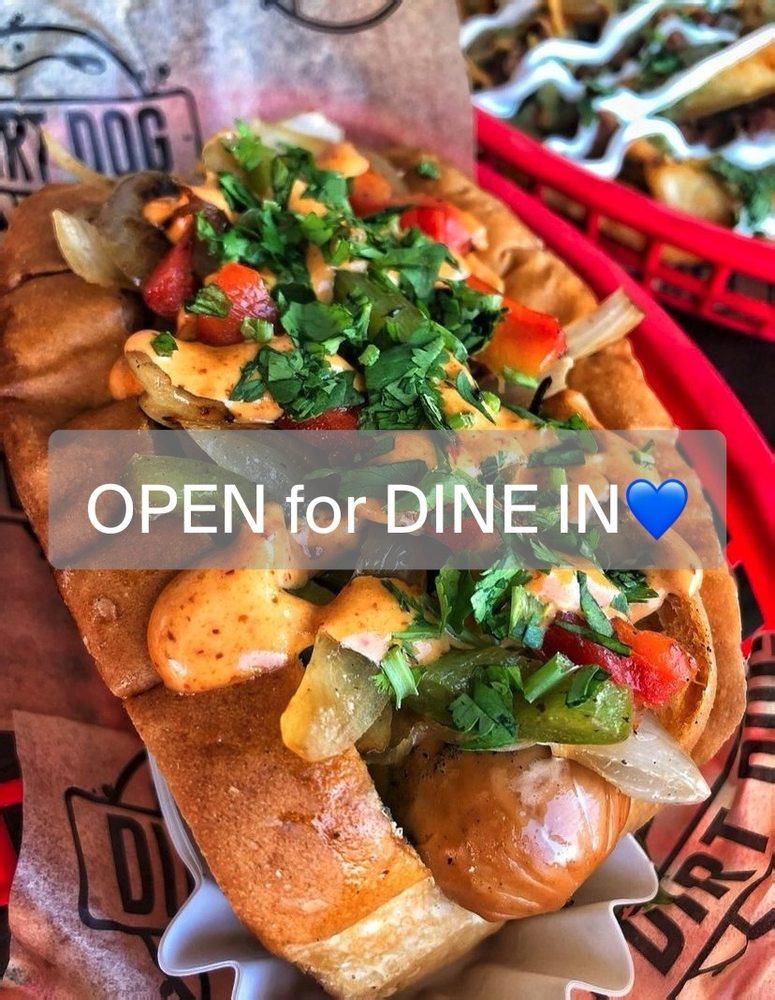 Food from Dirt Dog - Pasadena