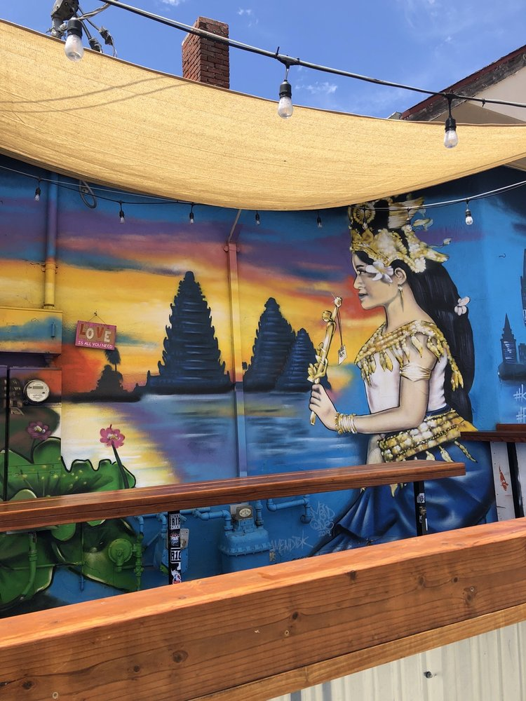"""""""Cambodia"""" mural: 21st Ave & Foothill Blvd, Oakland, CA"""