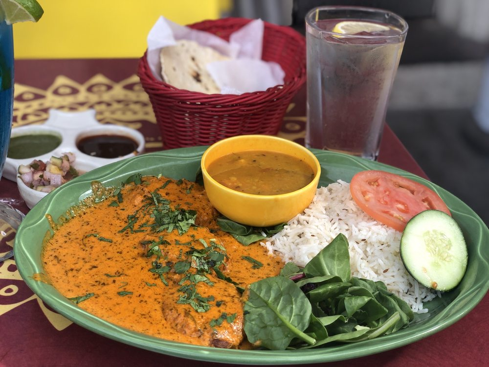 Food from Karma Kafe
