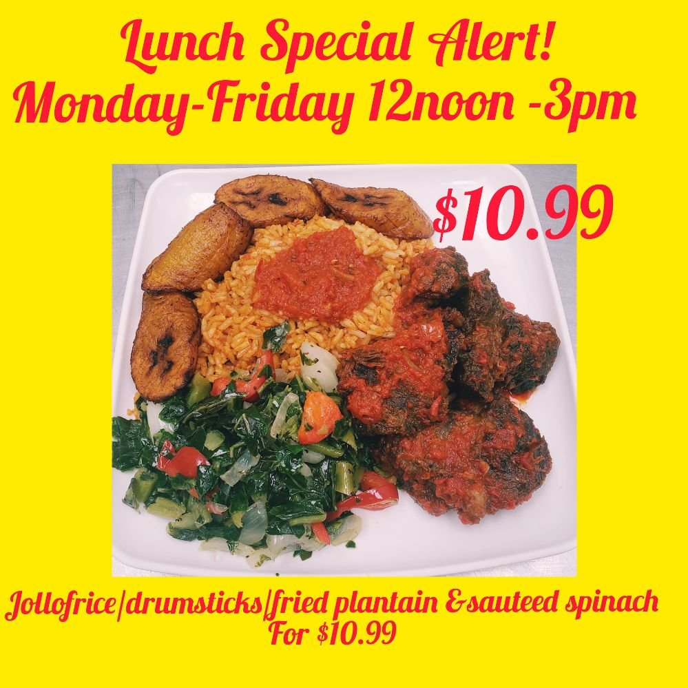 Aduke African cuisine: 6118 W Pico Blvd, Los Angeles, CA