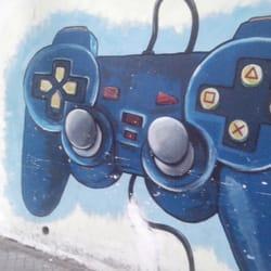 Mural Gamer Arts Entertainment Catamarca 1559 Rosario Santa
