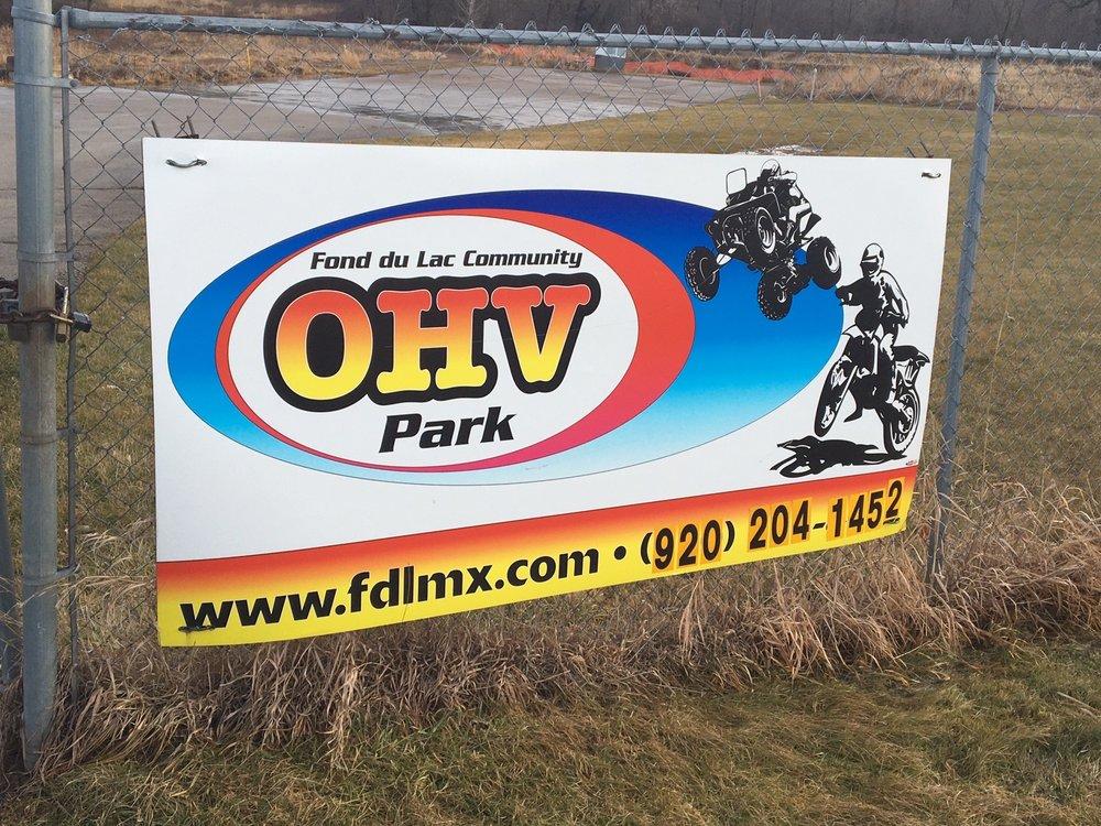 Fond du Lac Community OHV Park: Warehouse Ct, Fond du Lac, WI
