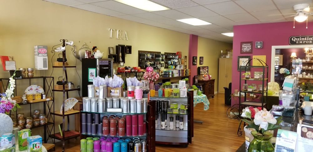 Quintin's Tea Emporium: 3101 Virginia Beach Blvd, Virginia Beach, VA