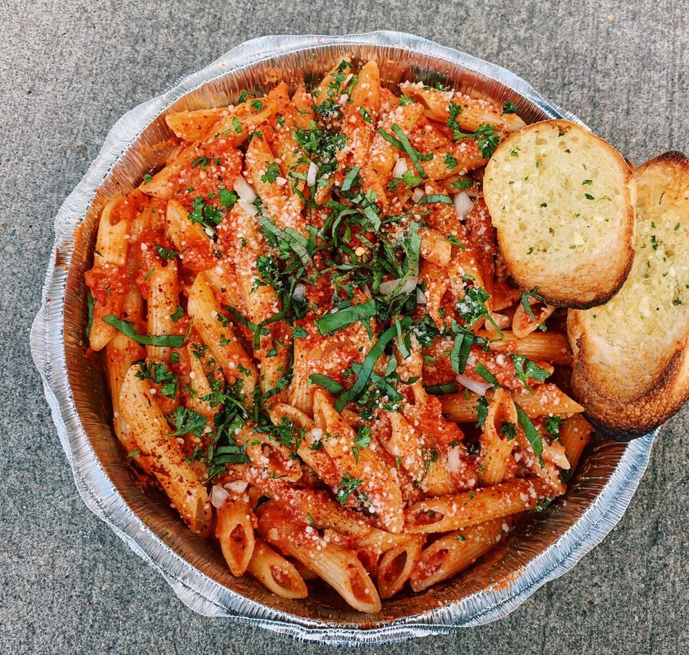 Food from Bono's Italian Restaurant