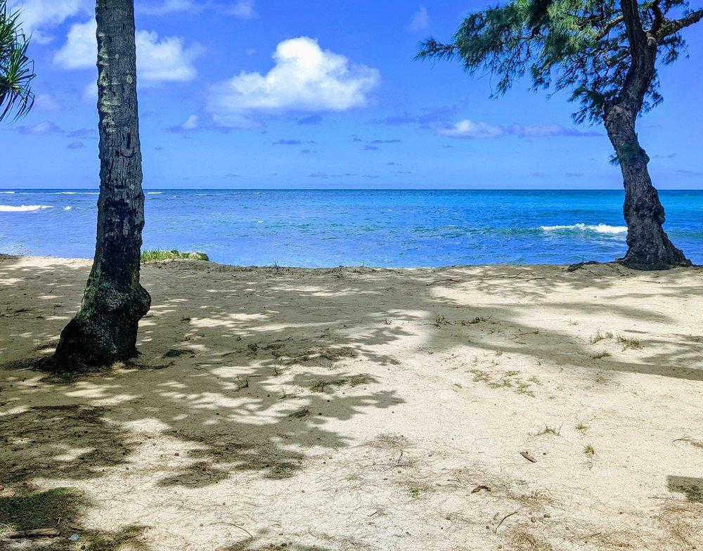Hauula Beach Park: 54-135 Kamehameha Hwy, Hauula, HI