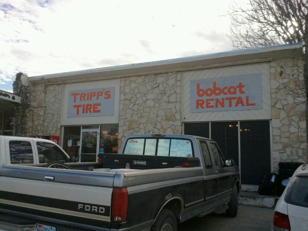 Tripp's Tire & Bobcat Service: 407 Main St, Bandera, TX