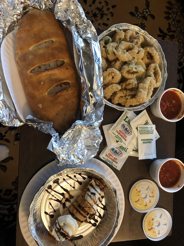 Food from Italian Cafe