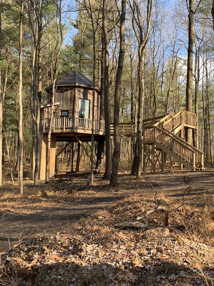 The Mohicans Treehouse Resort and Wedding Venue: 23164 Vess Rd, Glenmont, OH