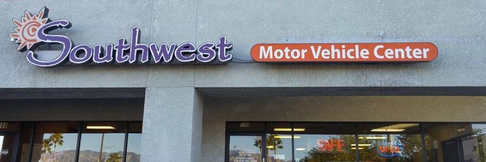 Southwest motor vehicle center 10 reviews registration for Motor vehicle department tucson
