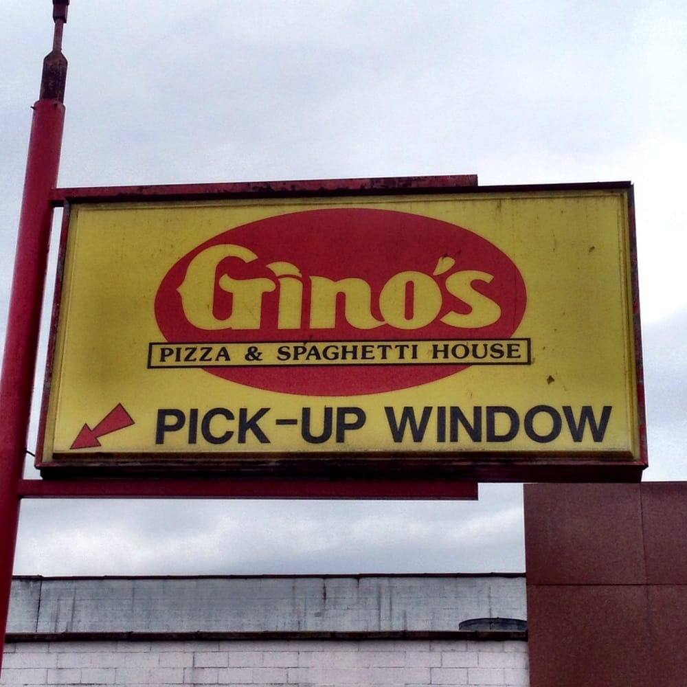 gino u0027s pizza and spaghetti house pizza 1401 washington ave