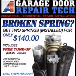 A1 Garage Door Service Tech   Request A Quote   Garage Door ...