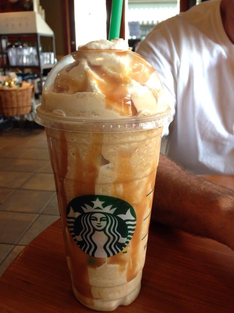 Caramel frappuccino extra caramel, extra shot expresso - Yelp