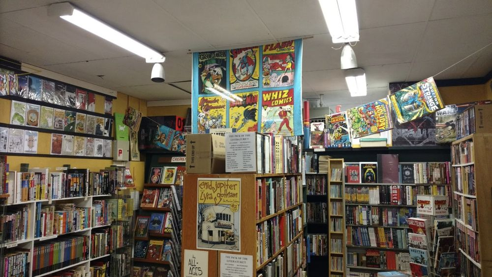Legends Comics & Books: 633 Johnson Street, Victoria, BC