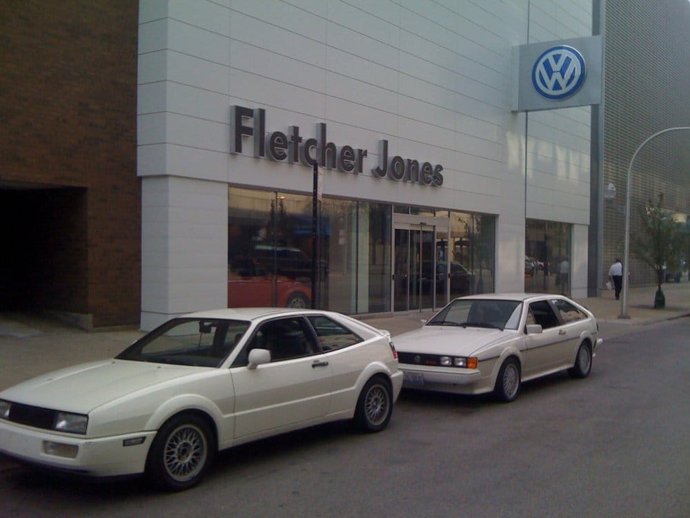 fletcher jones volkswagen  reviews car dealers   clark st  north side