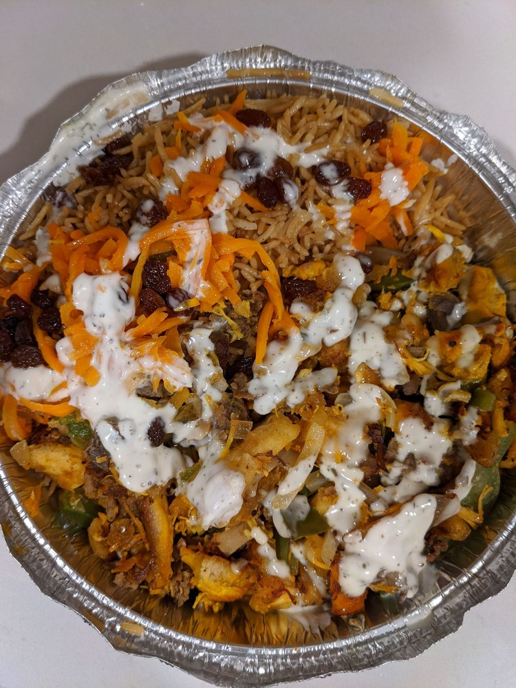 Food from Kabab Paradise