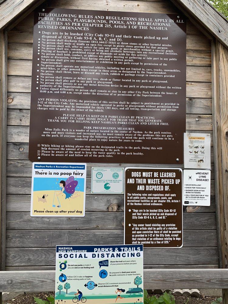 Social Spots from Mine Falls Park