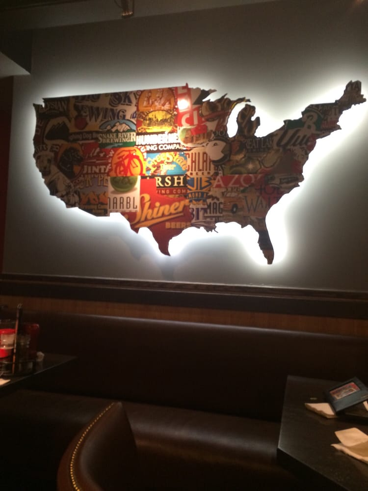 Cool Us Beer Map Yelp - Us-beer-map-red-robin