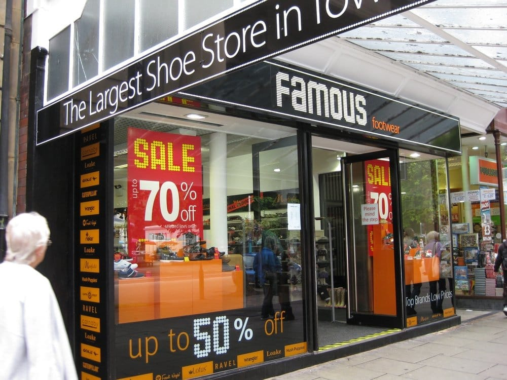 Shoe Shops In Southport