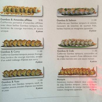 fleur de sushi - japonais - 38 rue des jacobins, caen, calvados