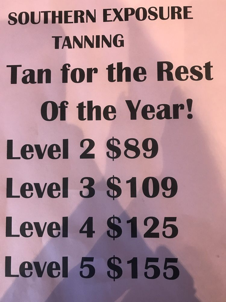 Southern Exposure Tanning: 27 Collins Dr, Cartersville, GA