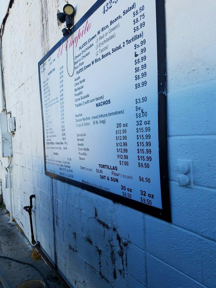 El Chapito: 1015 S Stockton Ave, Monahans, TX
